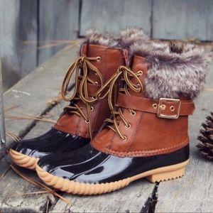 Shoes - EMMA Autumn Feels Duck Boots